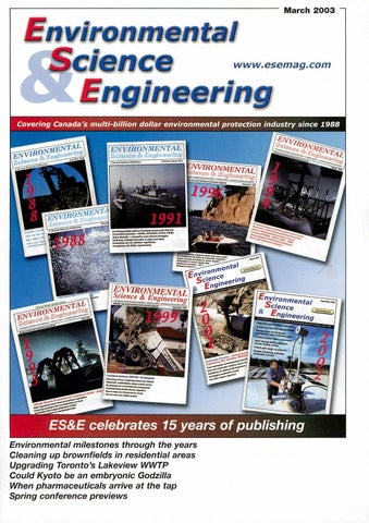Environmental Science & Engineering Magazine (ESEMAG) March