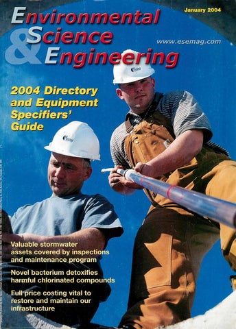 Environmental Science & Engineering Magazine (ESEMAG) January 2003 by  Environmental Science and Engineering Magazine - issuu