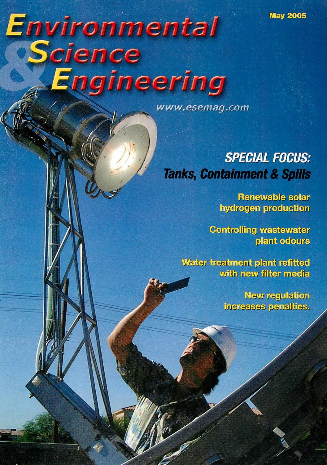 Environmental Science & Engineering Magazine (ESEMAG) May 2005 by ...