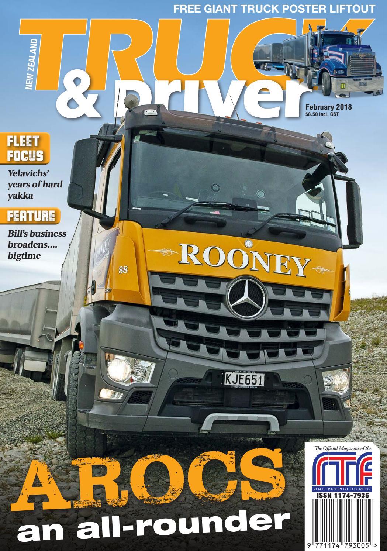 NZ Truck & Driver February 2018 by NZ Truck & Driver - issuu