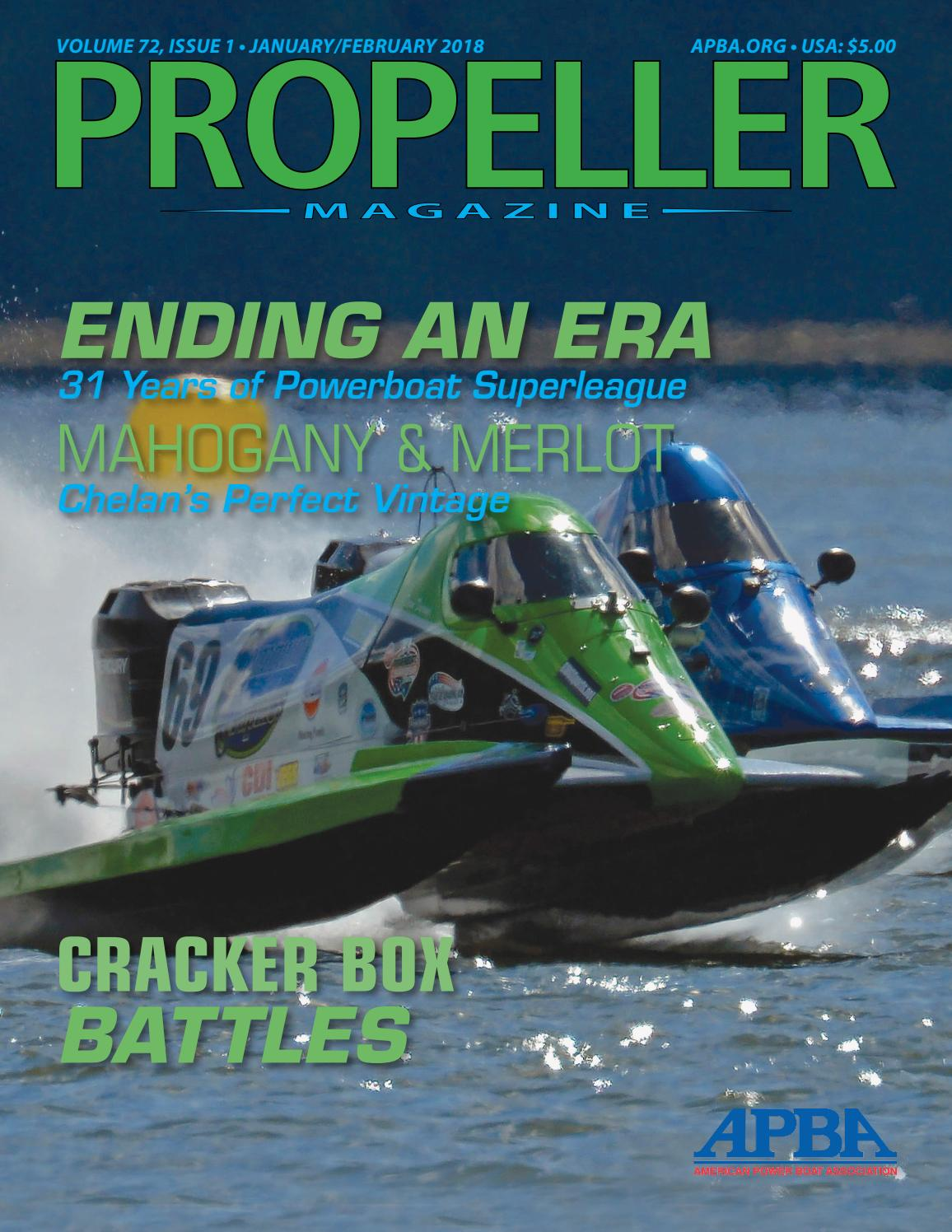 JanuaryFebruary 2018 Propeller Magazine by APBA
