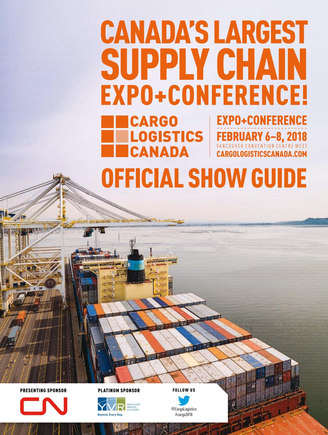 Cargo Logistics Canada 2018 Official Showguide by Peter
