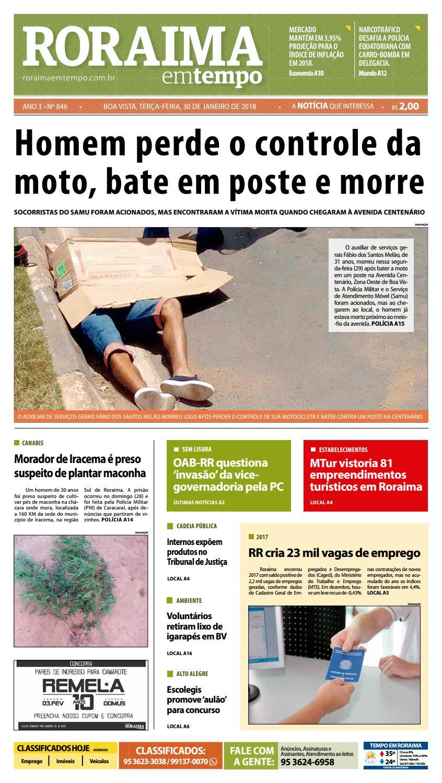 Jornal roraima em tempo – edição 846 by RoraimaEmTempo - issuu aea5d886387e7