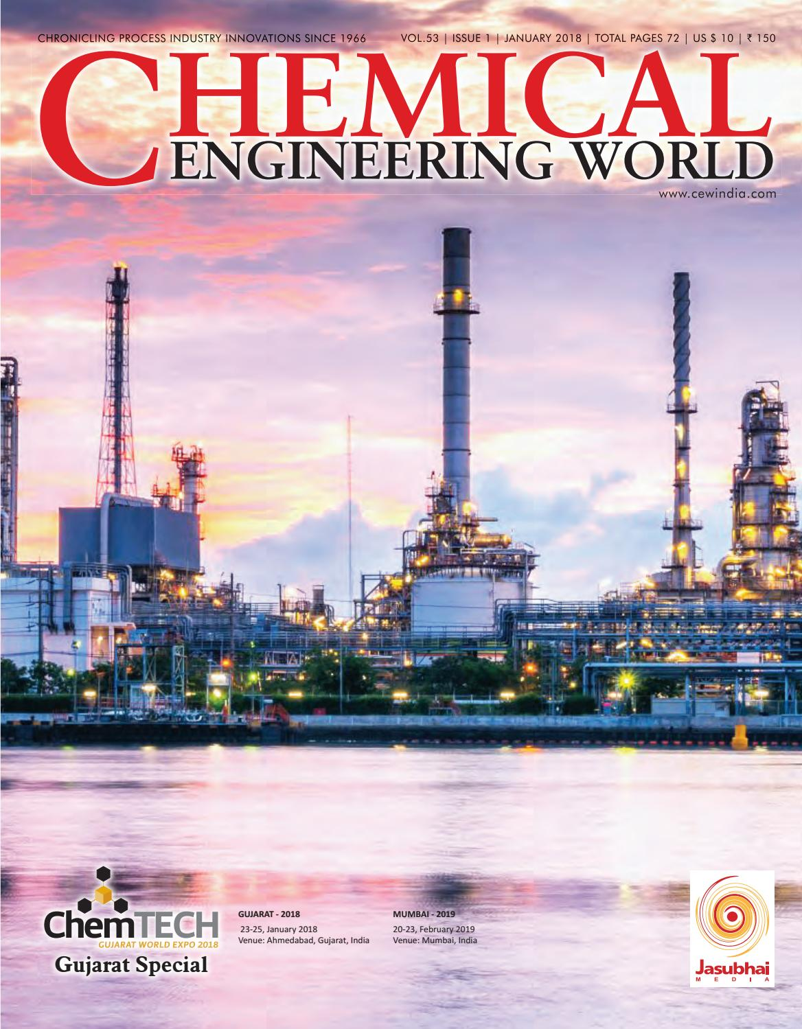 Cew January 2018 Low By Chemical Engineering World   Issuu
