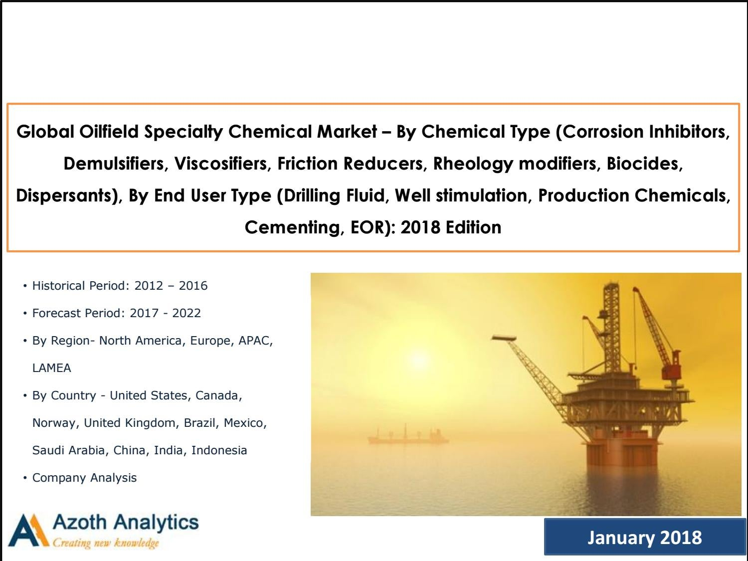 Global Oilfield Specialty Chemical Market: Forecast to 2022