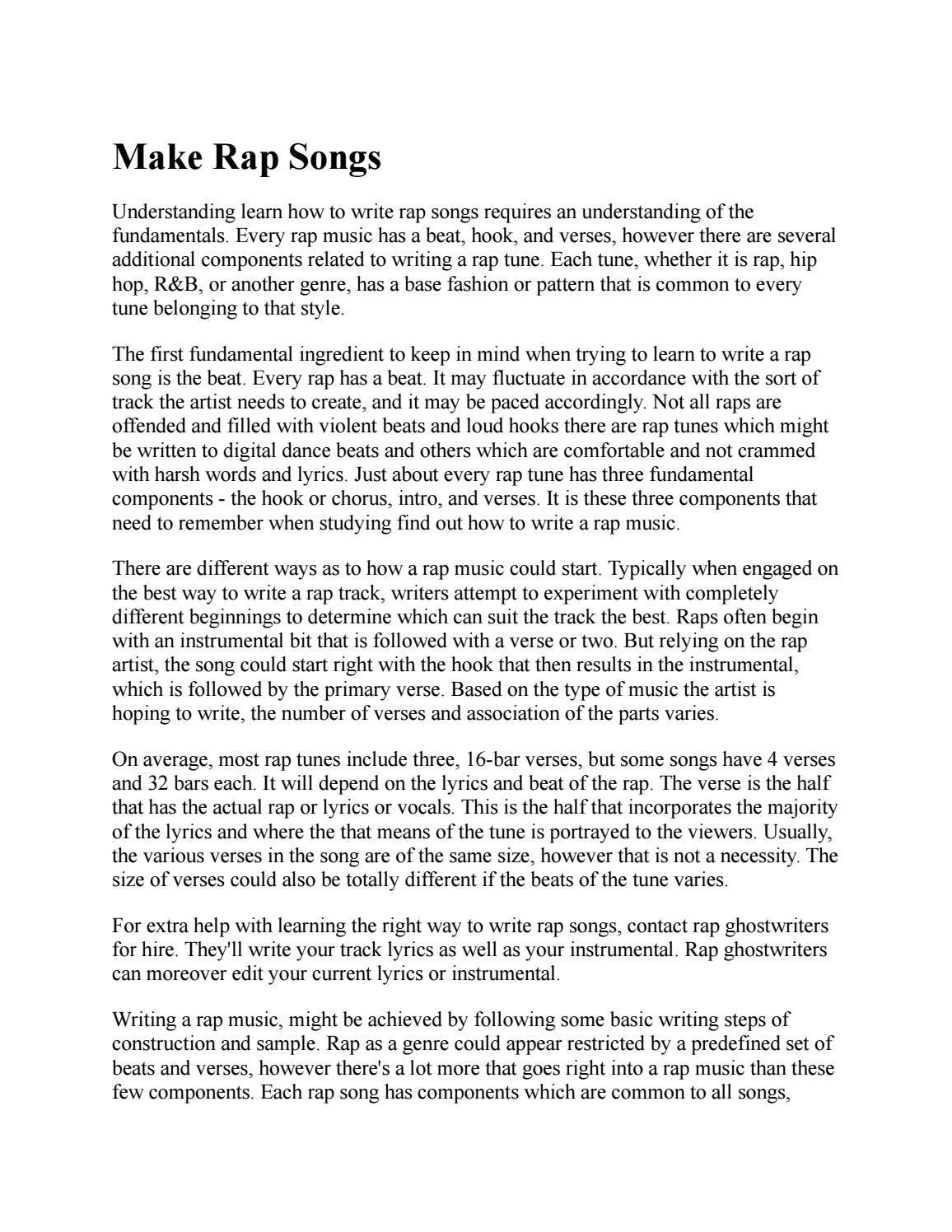 Ghostwriter lyrics for sale bachelorarbeit gesundheitsokonomie