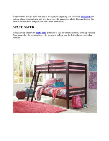 Top 5 Benefits Of Bunk Beds By Factory Direct Issuu