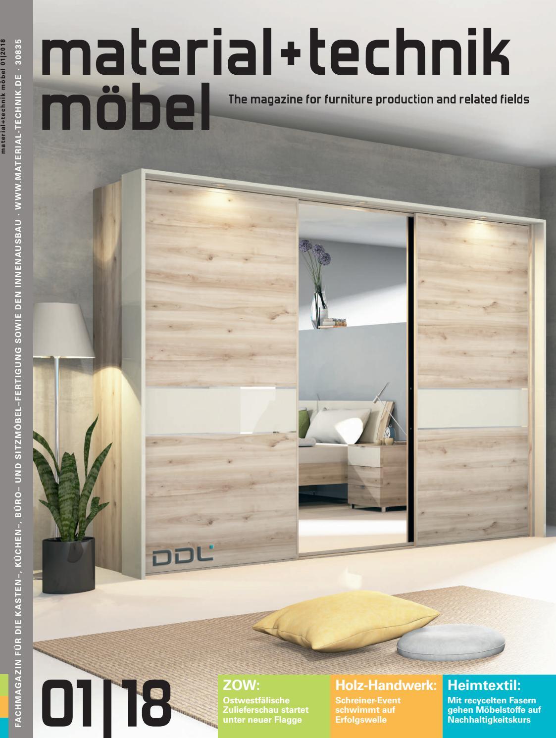 material + technik möbel Ausgabe 01/2018 by material + technik möbel ...