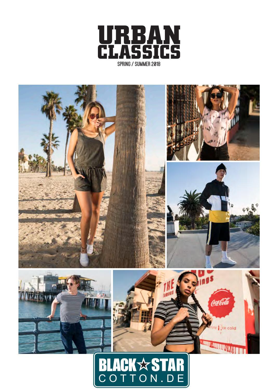 Urban classics ss18 katalog 2018 by Black Star T Shirt print
