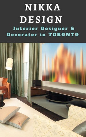 Interior Design Firms Toronto by nikkadesign7 issuu