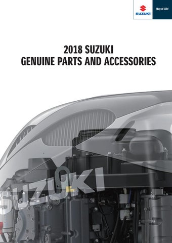 Suzuki Marine Genuine Rigging-Parts and Accessories by Emil