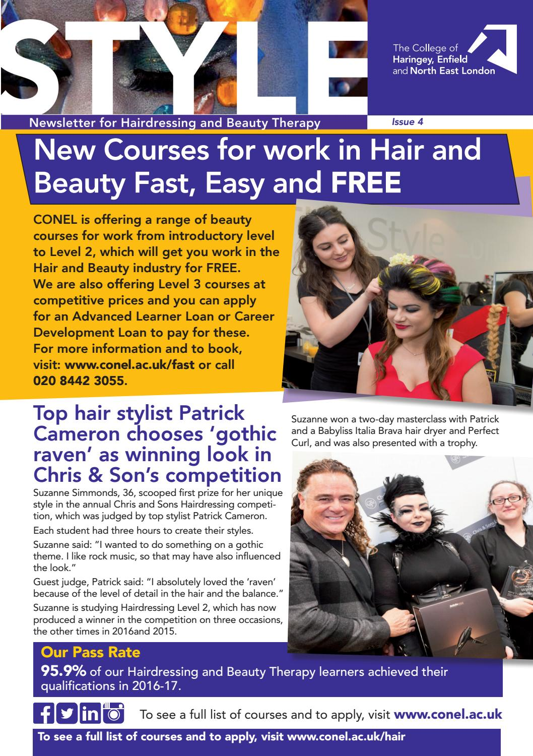 Style - Hair and Beauty at CONEL by The College of Haringey