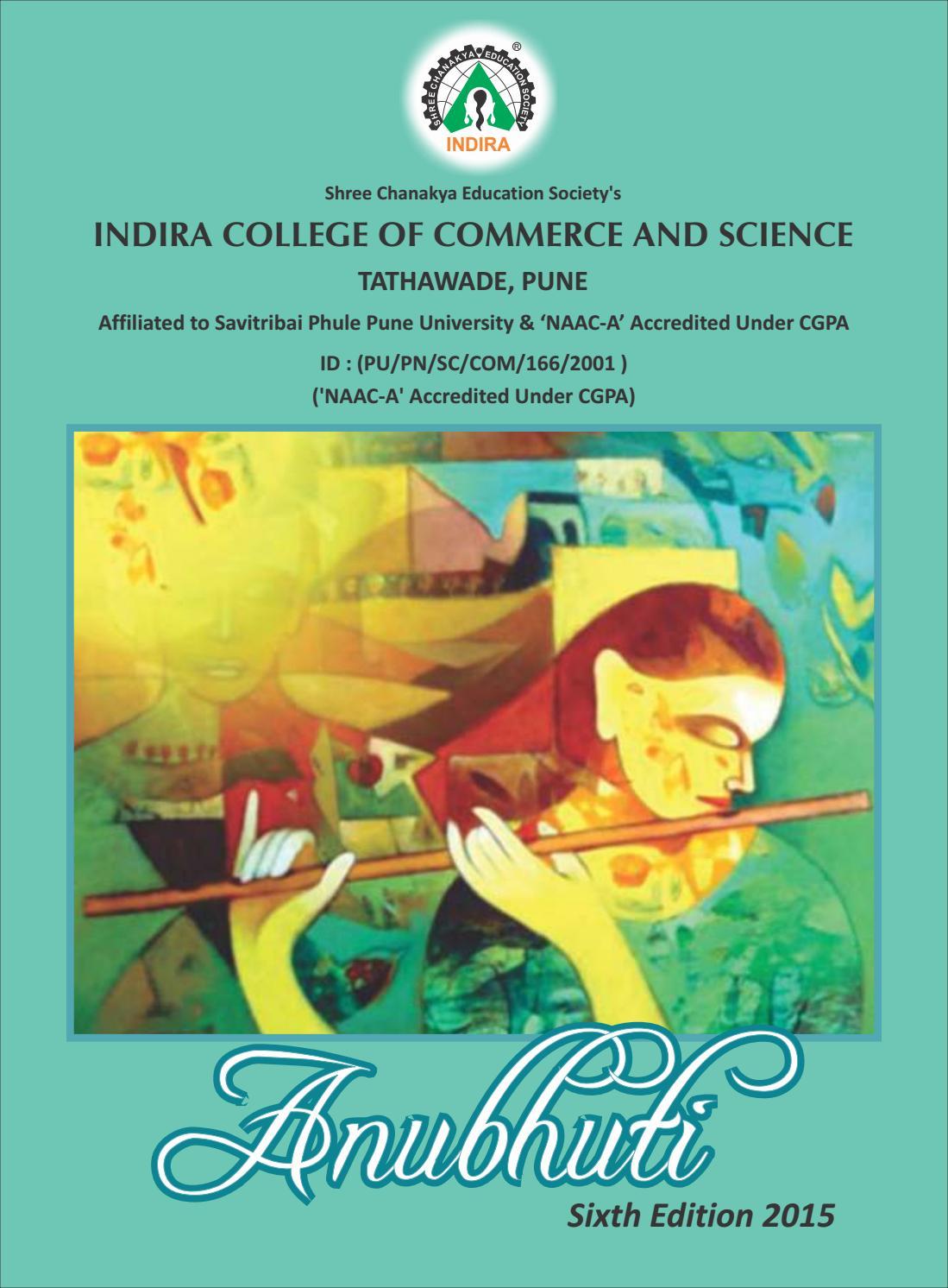 Anubhuti 2015 by Indira Group of Institutes - issuu