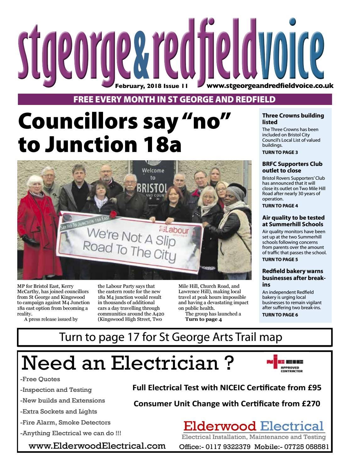 St George & Redfield Voice, February 2018 by St George