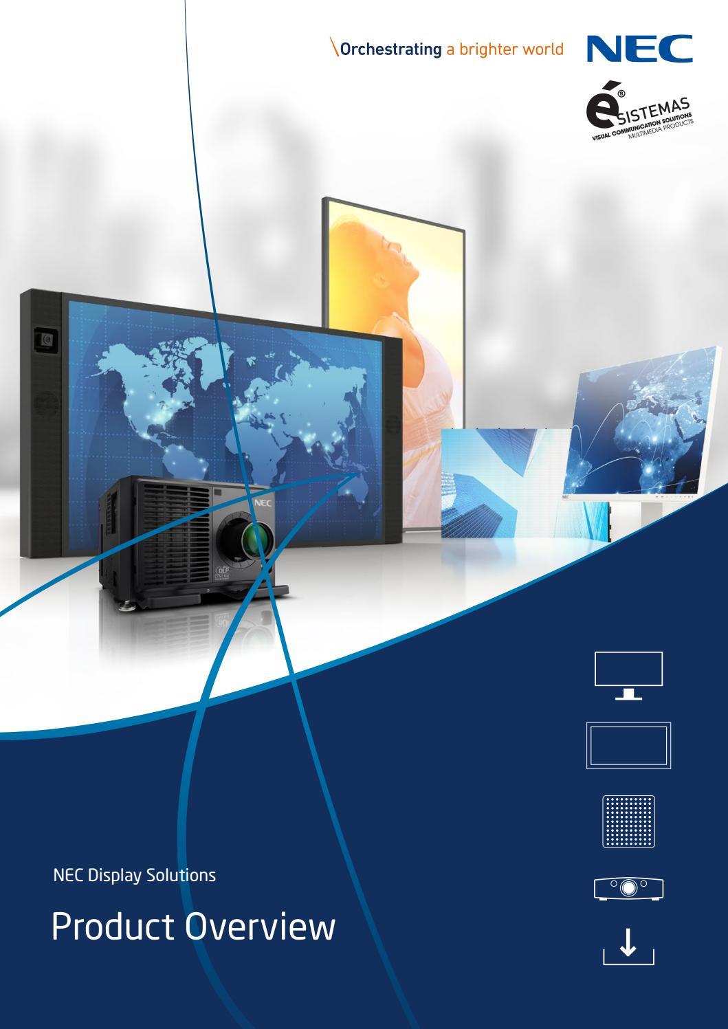 Nec® Display Solutions by Ésistemas Portugal   issuu