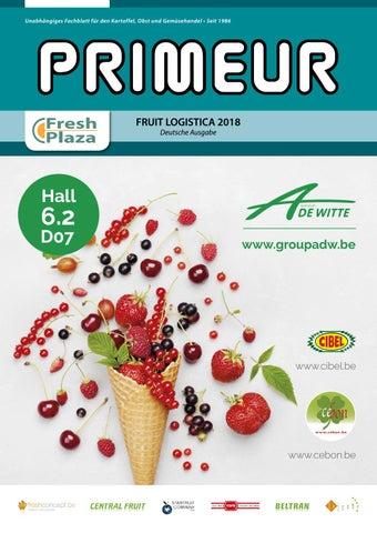 bc8db10c3cfd1 Primeur • Deutsche Ausgabe • Fruit Logistica 2018 by AGF Vormgeving ...