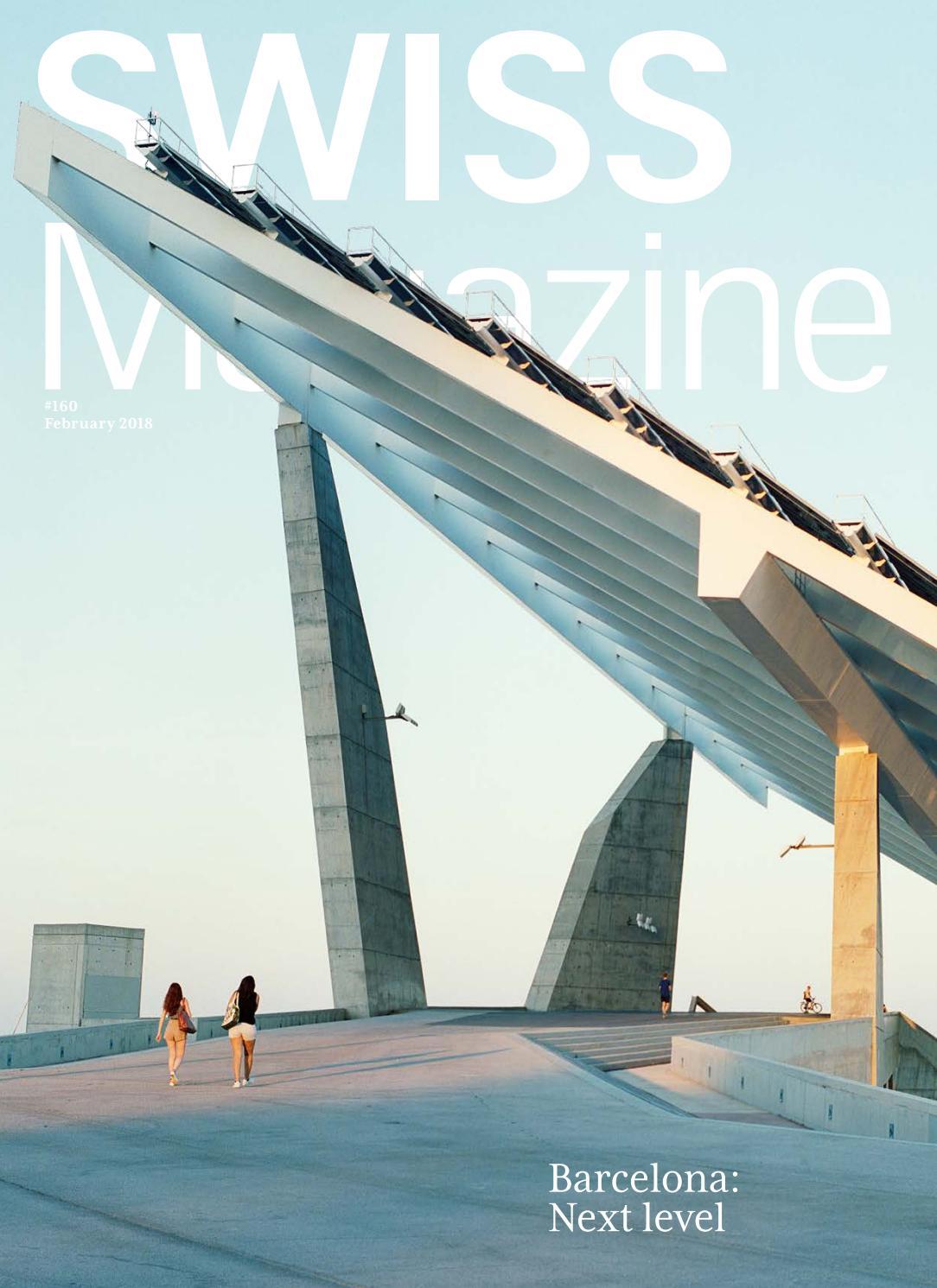 SWISS Magazine February 2018 - BARCELONA by SWISS Magazine by SWISS ...