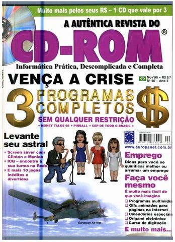 66ceda88d Revista do cdrom 040 by Michel França - issuu