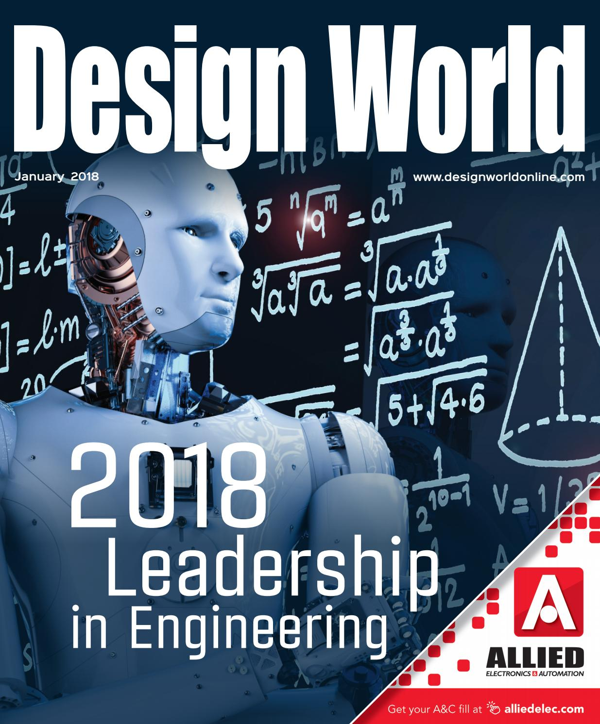Design World January 2018 leadership pages by WTWH Media LLC - issuu