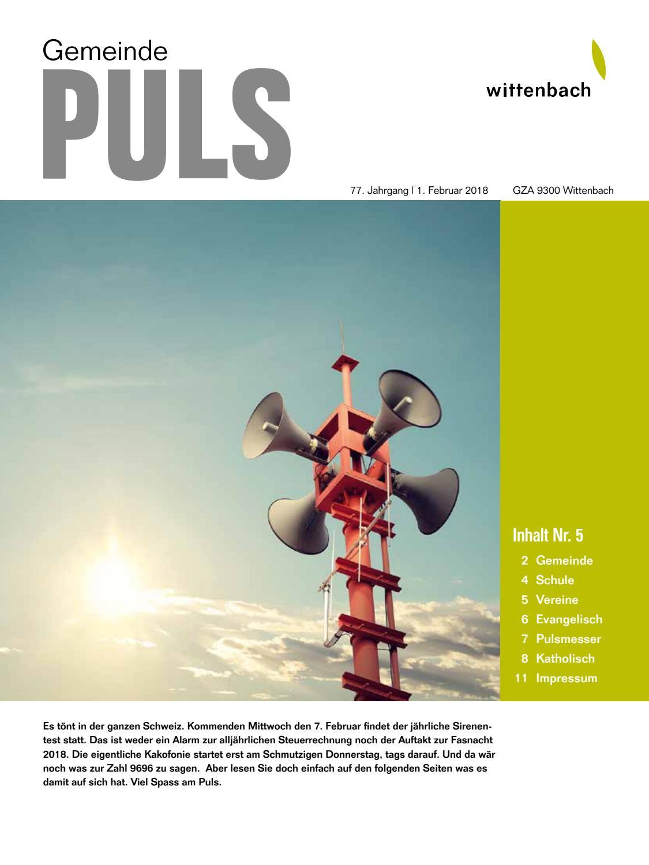 Gemeindepuls 5/2018 by Maxsolution - issuu