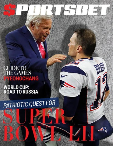 SportsBet Magazine - Super Bowl Issue by Sportsbet Magazine - issuu be0be3204