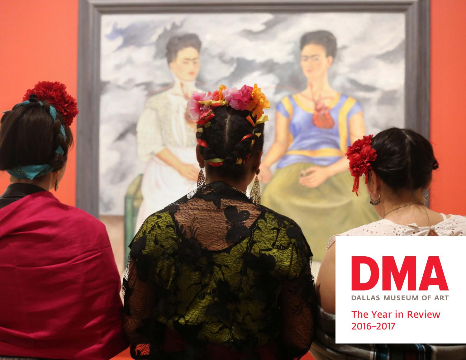 Dallas Museum Of Art The Year In Review 20162017 By Dallas Museum