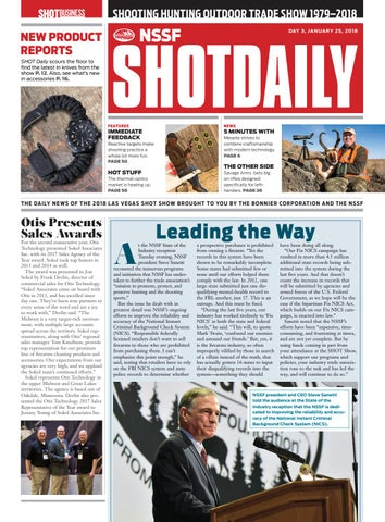 Shot Daily - Day 3 - 2018 SHOT Show by SHOT Business - issuu
