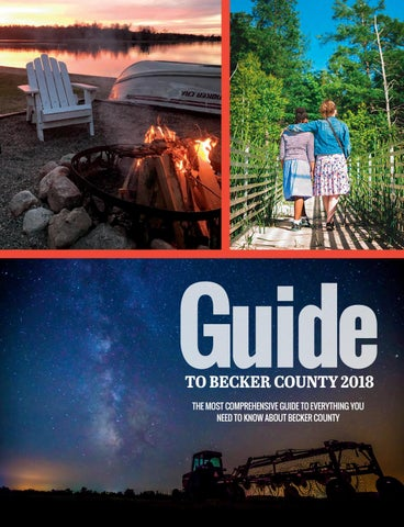 Guide TO BECKER COUNTY 2018 THE MOST COMPREHENSIVE GUIDE TO EVERYTHING YOU  NEED TO KNOW ABOUT BECKER COUNTY d90e8b146