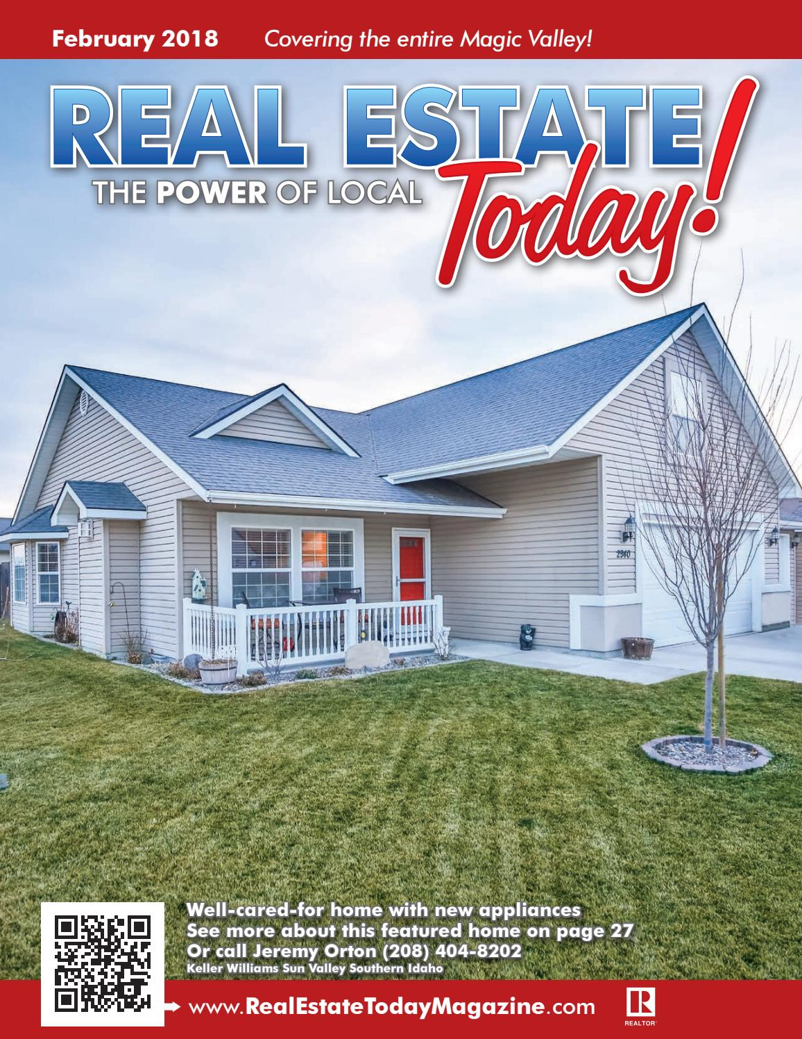 Real Estate Today February 2018 by Blip Printers - issuu