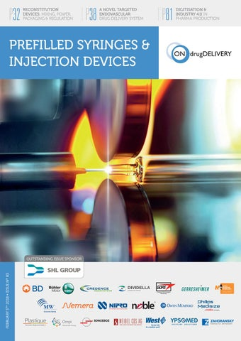 Prefilled Syringes & Injection Devices - ONdrugDelivery - Issue 83
