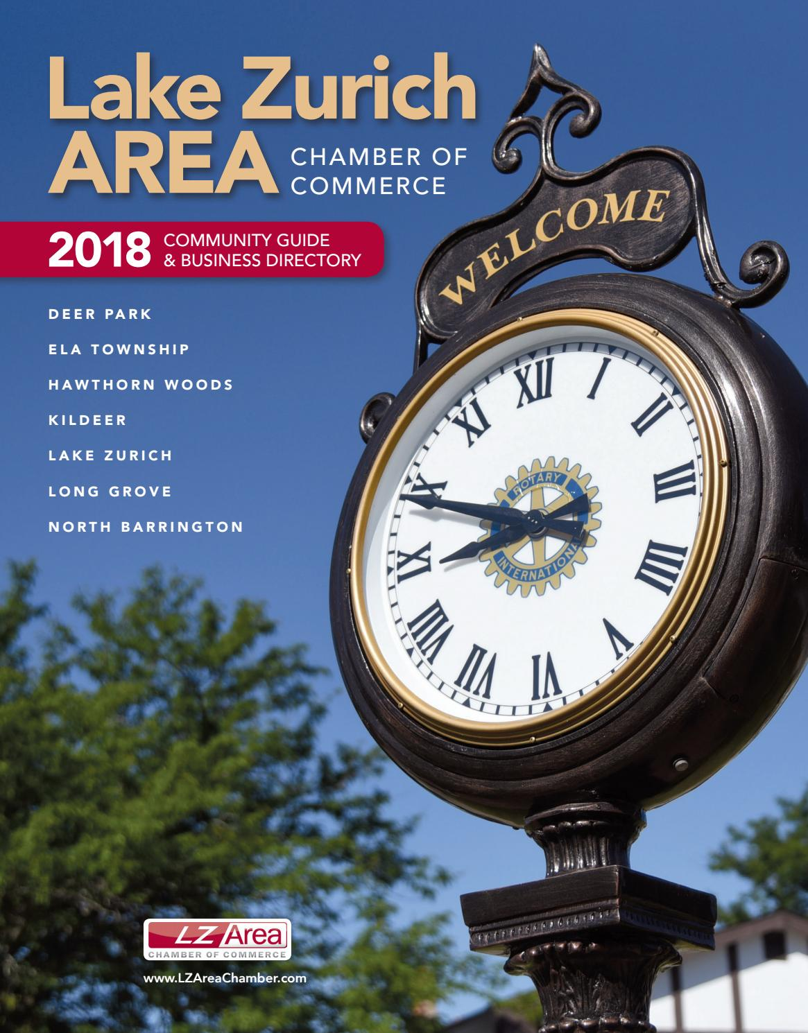 Lake Zurich IL Community Guide 2018 by Town Square