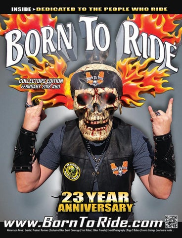 d1dba4dea8d1 Born To Ride Southeast Motorcycle Magazine #60 2-18 by Born To Ride ...