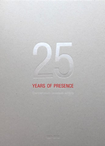 25 years of presence - Contemporary Ukrainian Artists 44f7f8e3e