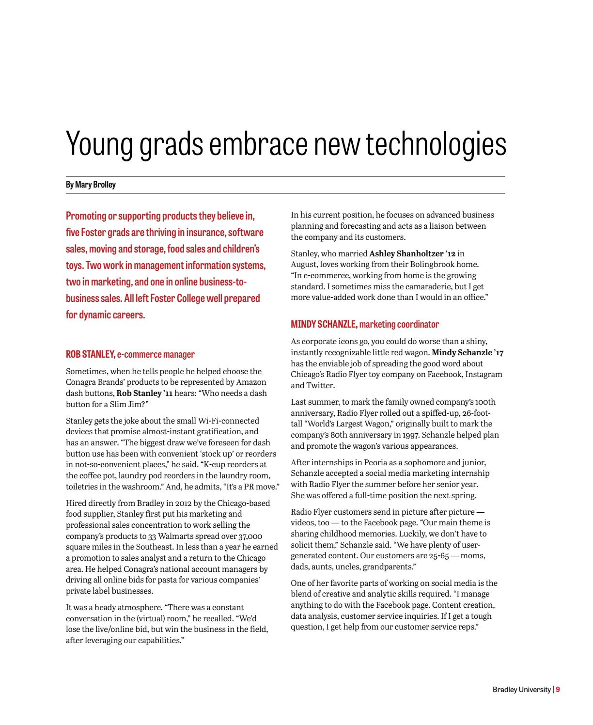 Experience Magazine by Bradley University - issuu