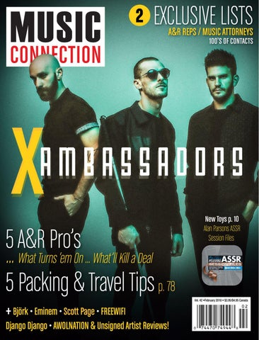 Music Connection February 2018 by Music Connection - issuu