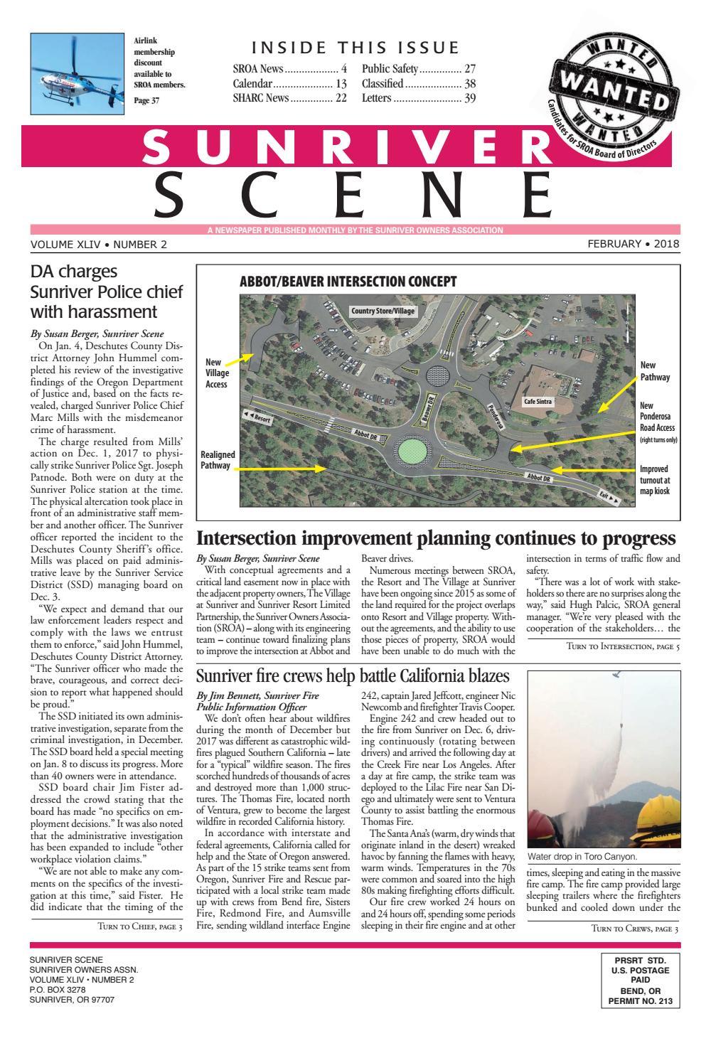 February 2018 Sunriver Scene by Sunriver Scene - issuu