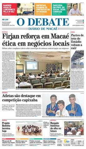 Edição 9486 31 01 2018 by O DEBATE Diario de Macae - issuu 75bcb5b4d1