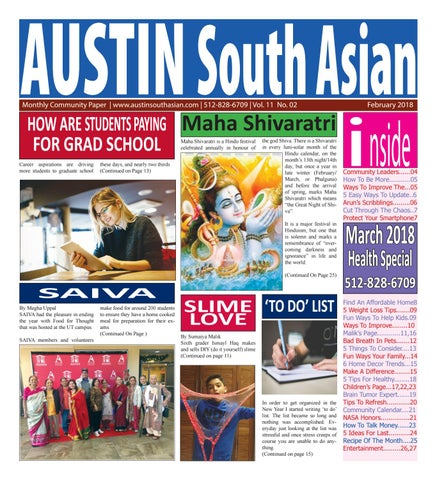 Austin South Asian. February. 2018 by Austin South Asian - issuu 3a92ec04c