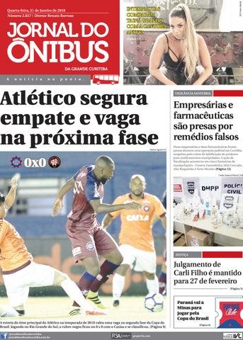 f61cd79489 Jornal do Ônibus de Curitiba - Edição do dia 31-01-2018 by Editora ...