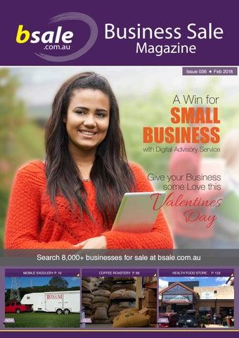 business for sale magazine february 2018 by bsale australia issuu