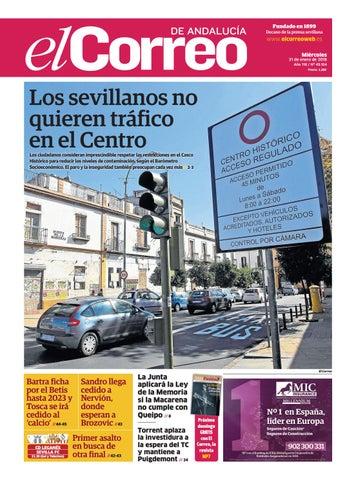 1550a62378cee 31.01.2018 El Correo de Andalucía by EL CORREO DE ANDALUCÍA S.L. - issuu