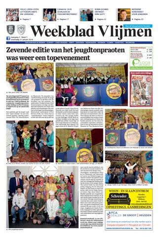 Weekblad Vlijmen 31 01 2018 By Uitgeverij Em De Jong Issuu