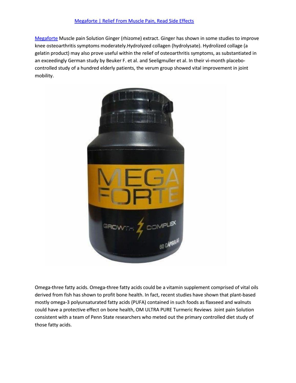 Megaforte- Natural Pain Relief | Order Now by Suxor Free - Issuu