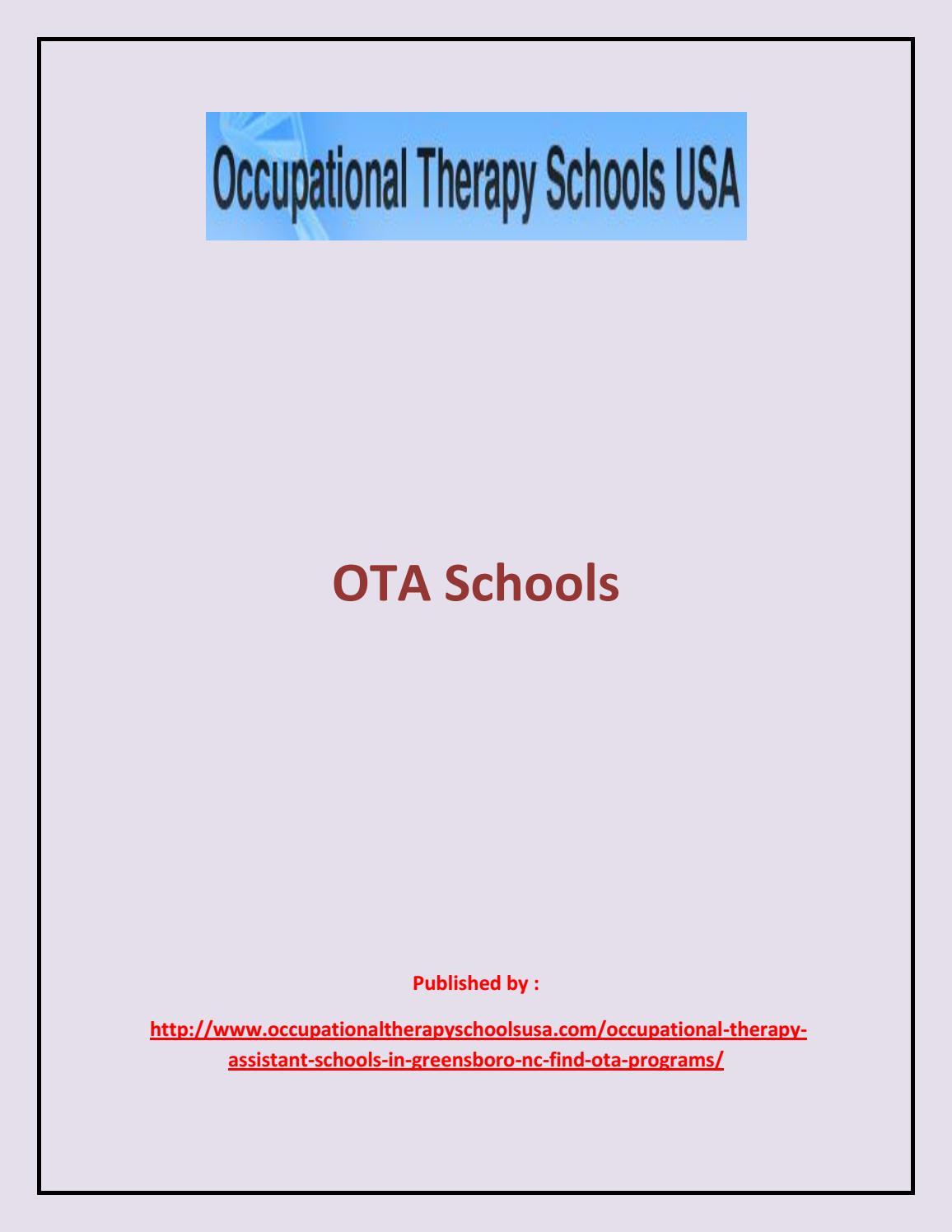 Ota Schools By Costheadchef Issuu
