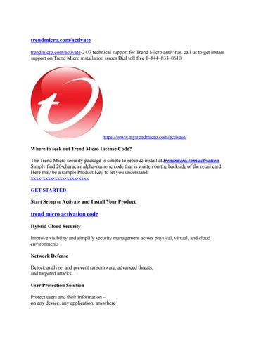 Trend micro activation | download and install your best buy by saira