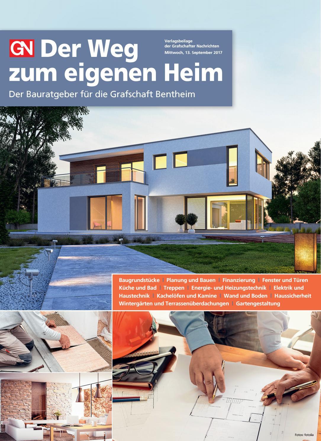 Der Weg zum eigenen Heim Herbst 2017 by Grafschafter Nachrichten - issuu