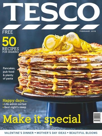 Tesco magazine february 2018 by tesco magazine issuu page 1 forumfinder Image collections