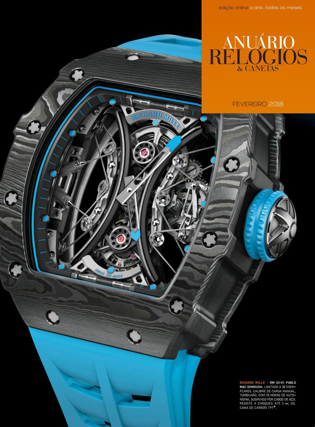 6094d69e23b Anuário Relógios   Canetas - Fevereiro 2018 by Anuário Relógios   Canetas -  issuu