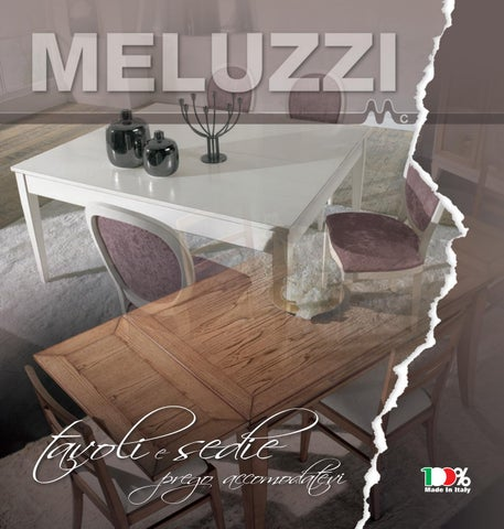 Tavolo Consolle Mezzaluna Allungabile.Catalogo Tavoli E Sedie By Progettocasaid Issuu