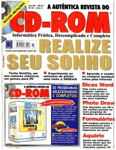 Revista do cdrom 043 by Michel França - issuu 373f2ba538f